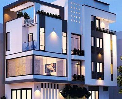 02 400x325 - Nhà phố 4 tầng 2 mặt tiền tại Kiến An - Hải Phòng