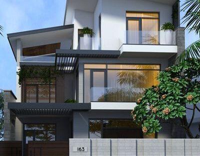 NP0241 cover 400x311 - Thiết kế nhà phố 3 tầng 10x12m tại Hải An - Hải Phòng