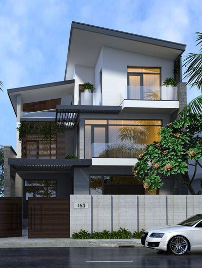 Thiết kế nhà phố 3 tầng 10x12m tại Hải An - Hải Phòng