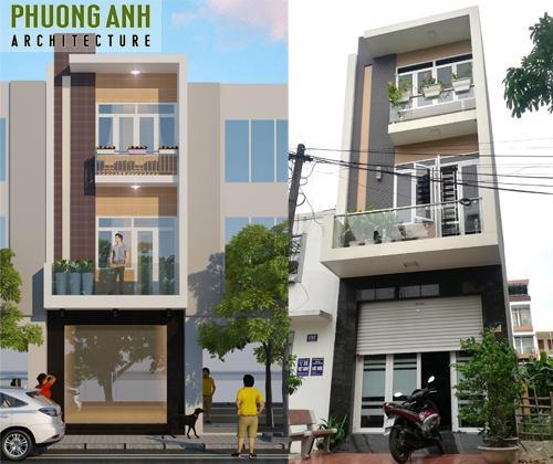 Xây nhà trọn gói tại Văn Cao - Hải Phòng cho bác Dũng