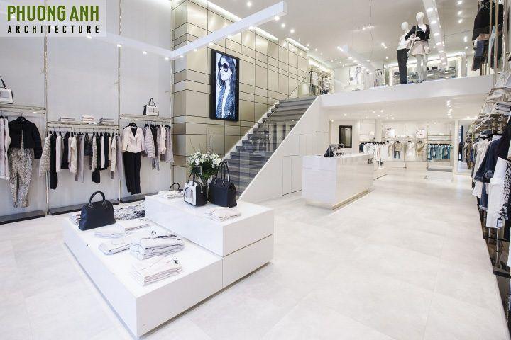 Hiện đại, trẻ trung là phong cách thiết kế ưa thích của các shop quần áo nữ-thiet-ke-tang-1-shop-quan-ao