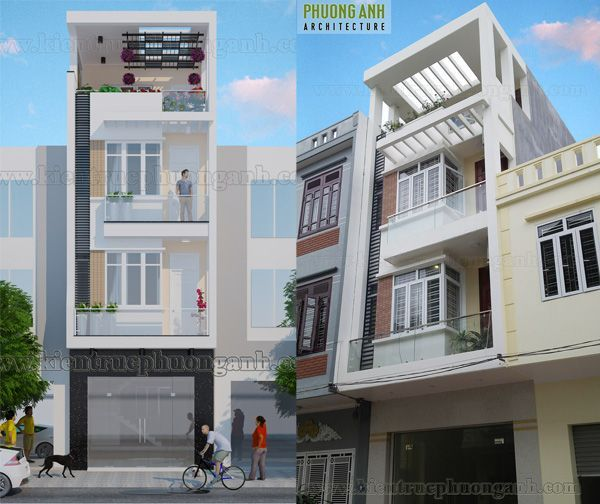 Xây nhà trọn gói 4 tầng cho chú Hiên tại Kiến An - Hải Phòng | XNTG 0096