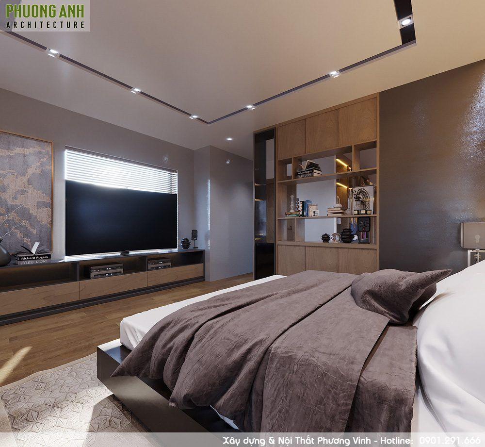 Nội thất phòng ngủ hiện đại làm hài lòng cả những khách hàng khó tính nhất