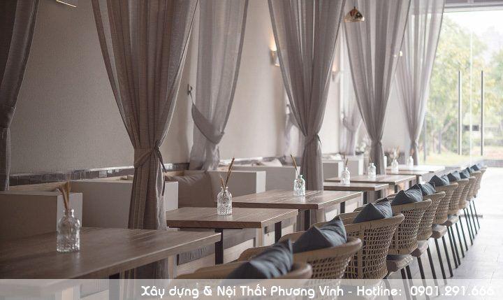 Kết hợp nội thất Masseria của Nam Ý và phong cách nội thất trang nhã, truyền thống của các nước Đông Nam Á bai-tri-cac-ban-uong-nuoc-coffee-hop-ly