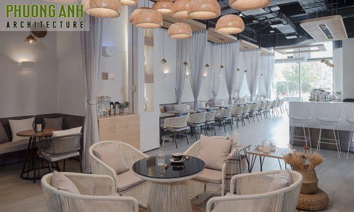 Ý tưởng thiết kế quán cafe đơn giản và đẹp