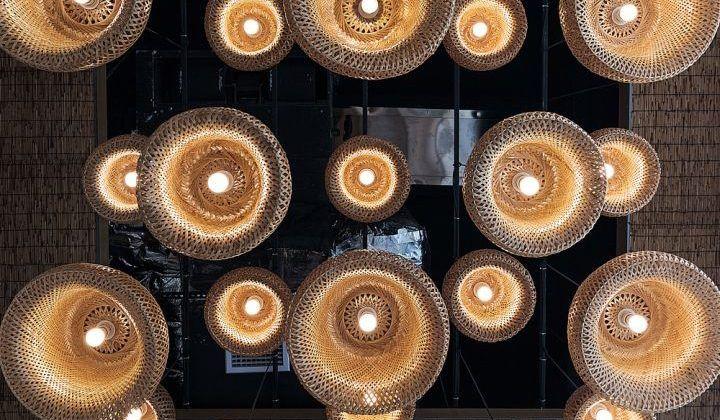 Thiết kế hệ thống đèn lung linh tăng phần hấp dẫn cho quán cafe