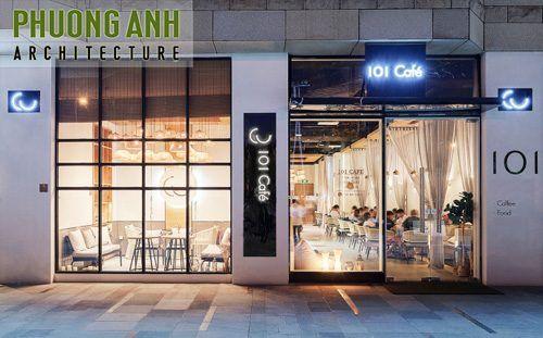 Thiết kế quán cafe đẹp độc đáo | TKS 0458