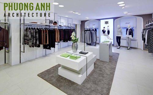 Thiết kế cửa hàng quần áo đẹp, hiện đại | TKS 493