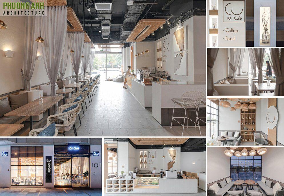 Thiết kế quán cafe đẹp độc đáo phong cách Đông Tây kết hợp