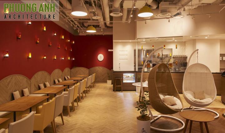 Phương án 2 mẫu thiết kế quán cafe độc đáo, sang trọng tại Hải Phòng