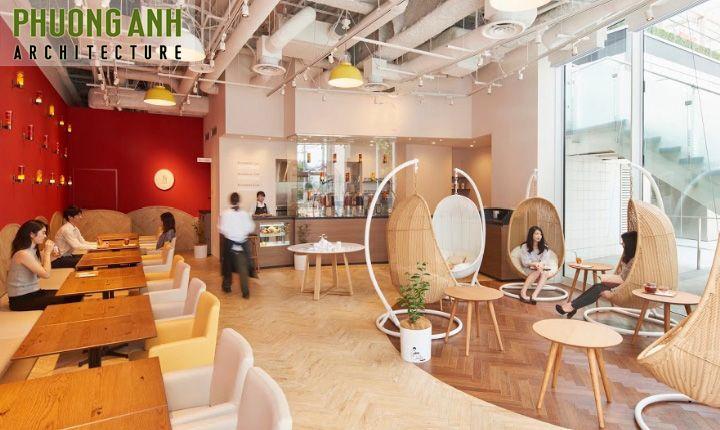 Thiết kế quán cafe đẹp và chất tại Hải Phòng