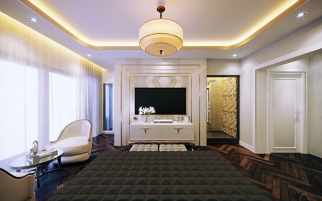 Cách trang trí phòng ngủ đẹp hiện đại sang trọng