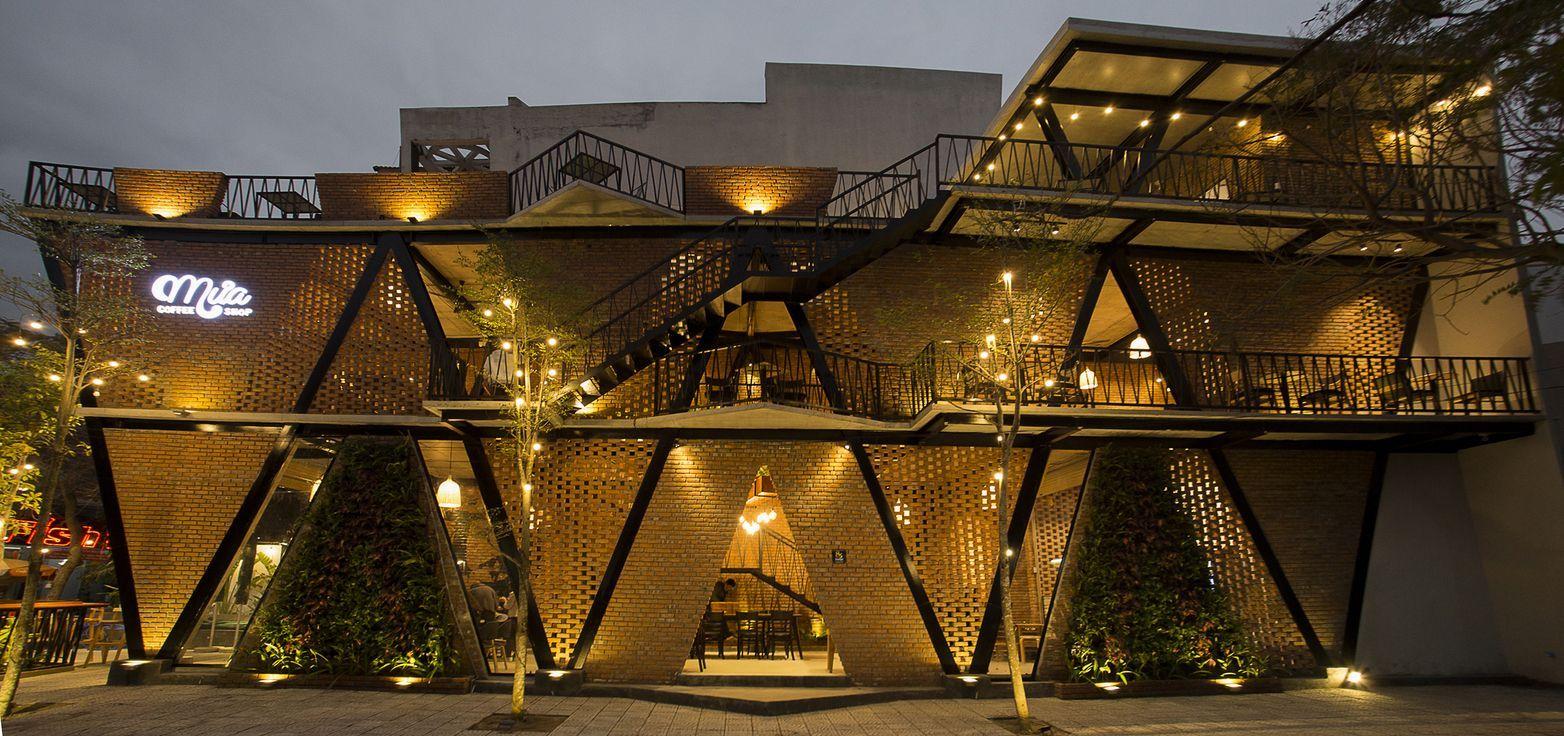 Chiêm ngưỡng thiết kế độc đáo của quán cafe Mưa