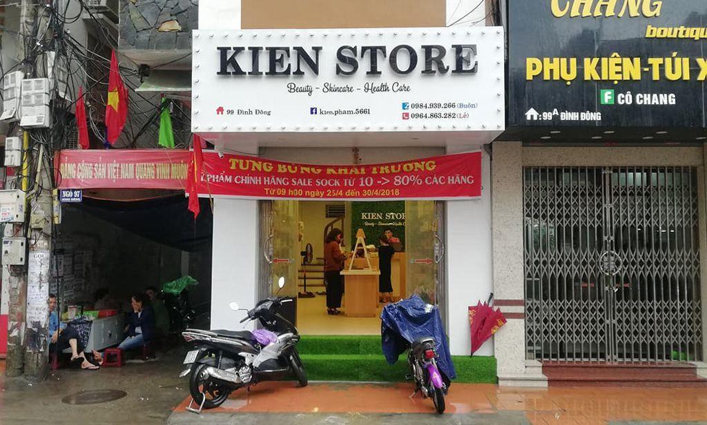 Khai trương Shop mỹ phẩm Kiên Store tại Hải Phòng