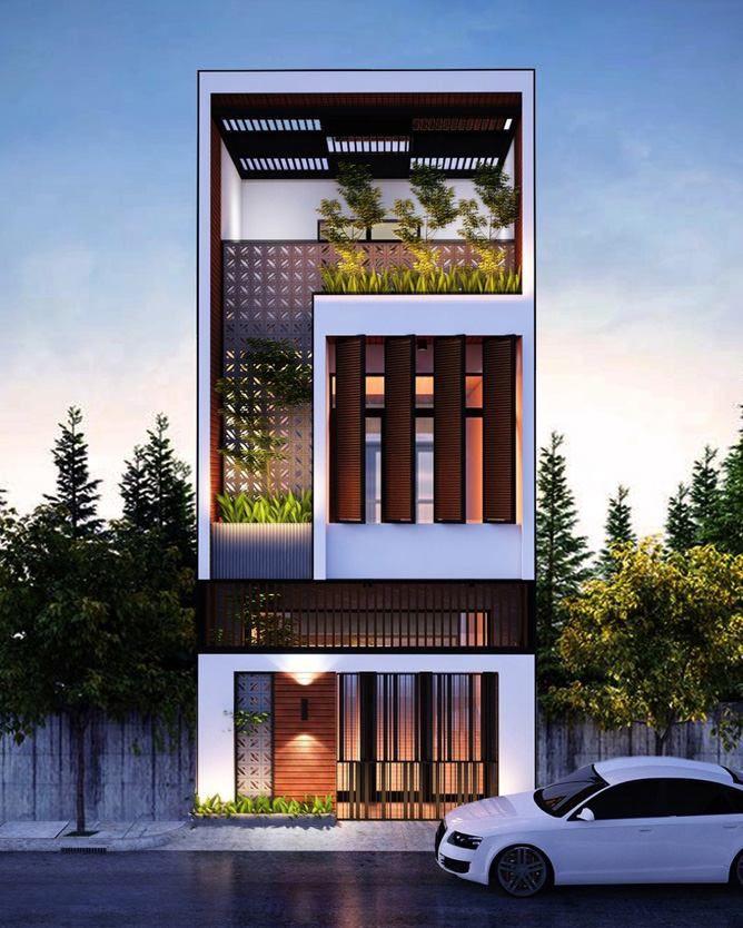 Thiết kế nhà ống 3 tầng tại Ngô Quyền - Hải Phòng