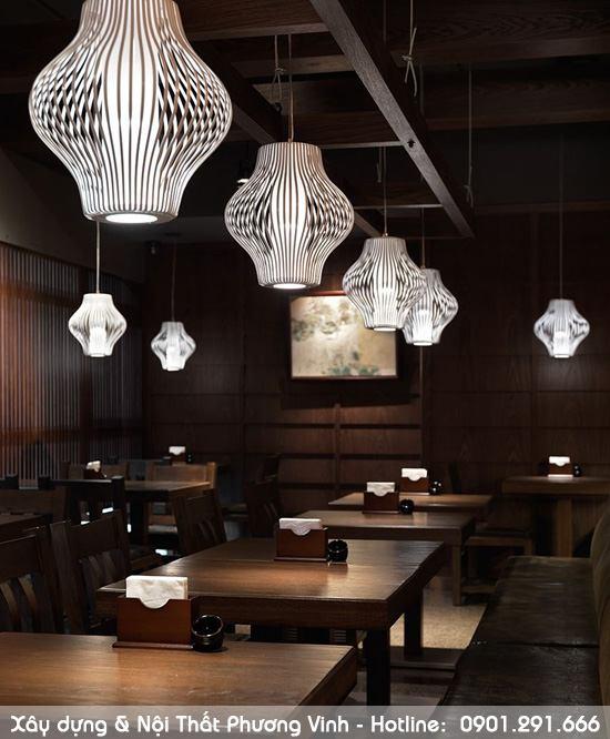 Hoàn thiện nội thất nhà hàng Nhật Bản tại Hà Nội