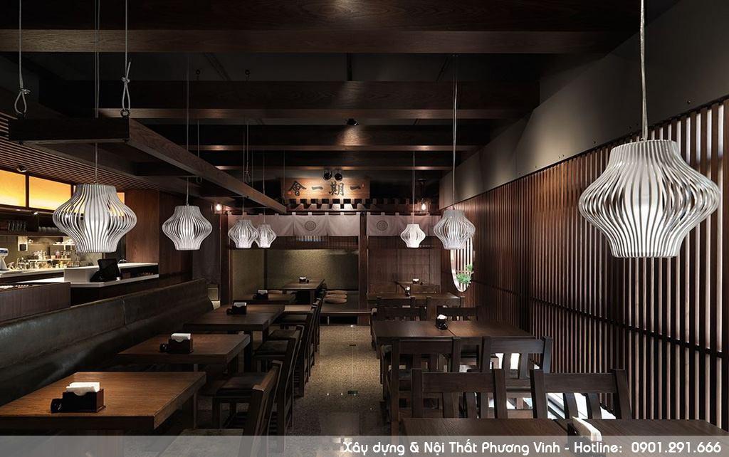 Hướng dẫn trang trí nội thất nhà hàng phong cách Nhật Bản