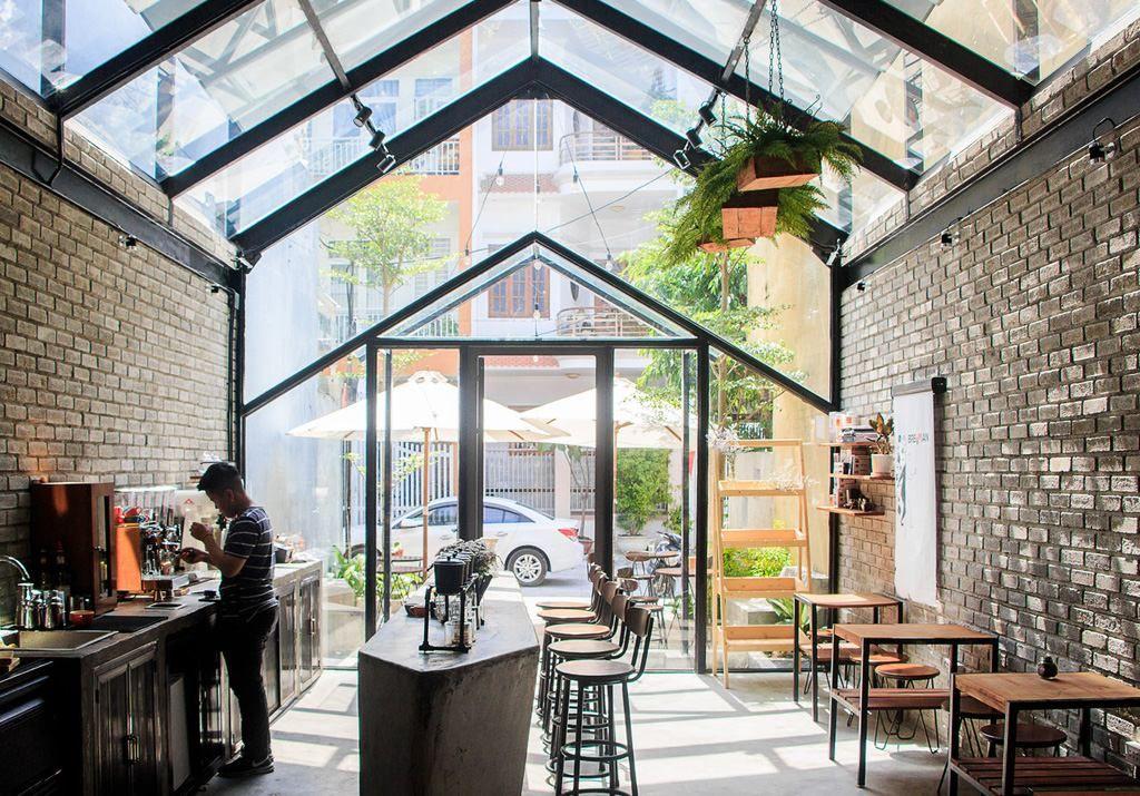 Thi công nội thất quán cafe nhỏ đẹp