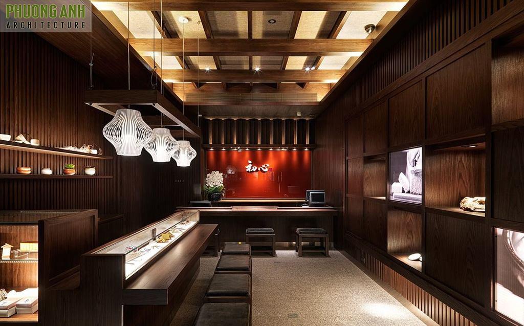 Thiết kế nhà hàng kiểu Nhật đẹp cao cấp