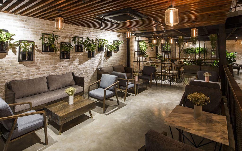 Thiết kế nội thất quán cafe độc đáo thu hút khách hàng