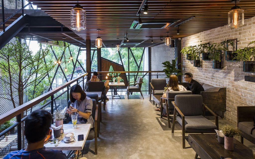Thiết kế nội thất quán cafe độc đáo thu hút khách hàng ghé thăm