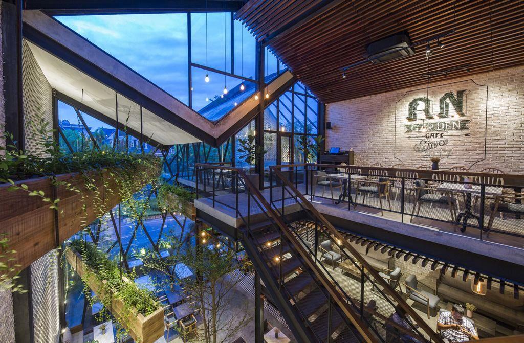 Thiết kế quán cafe Hải Phòng đẹp độc đáo