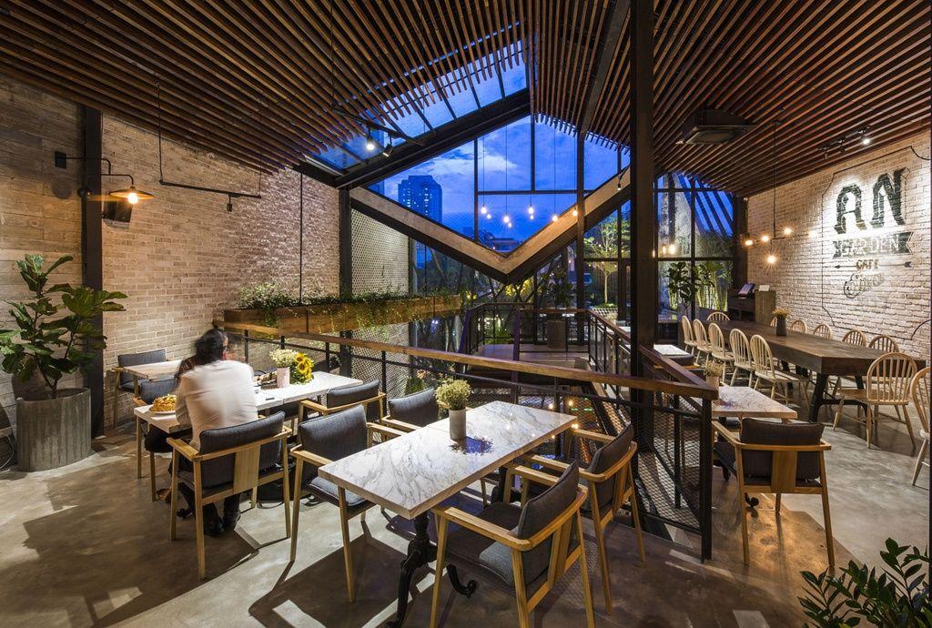 Thiết kế nội thất quán cafe Hải Phòng