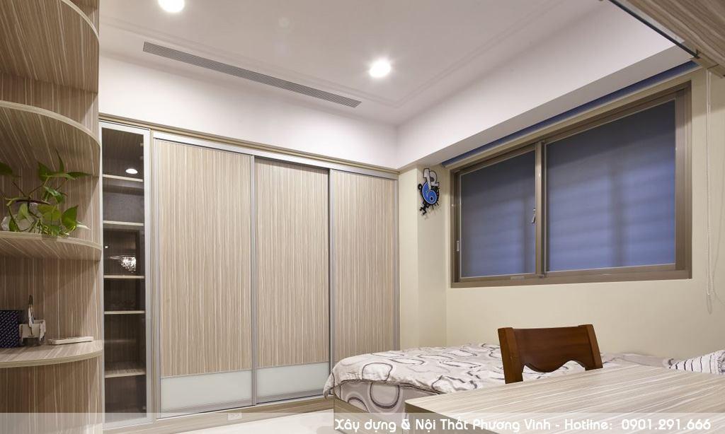 Mẫu thiết kế phòng ngủ hiện đại giá rẻ tại Hải Phòng