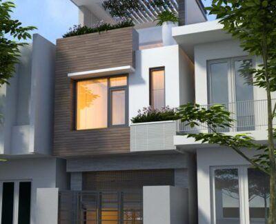 Thiết kế nhà 2.5 tầng đẹp giá rẻ tại Hải Phòng