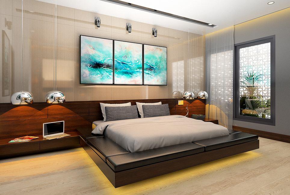 Thiết kế nội thất phòng ngủ đẹp tại Hải Phòng