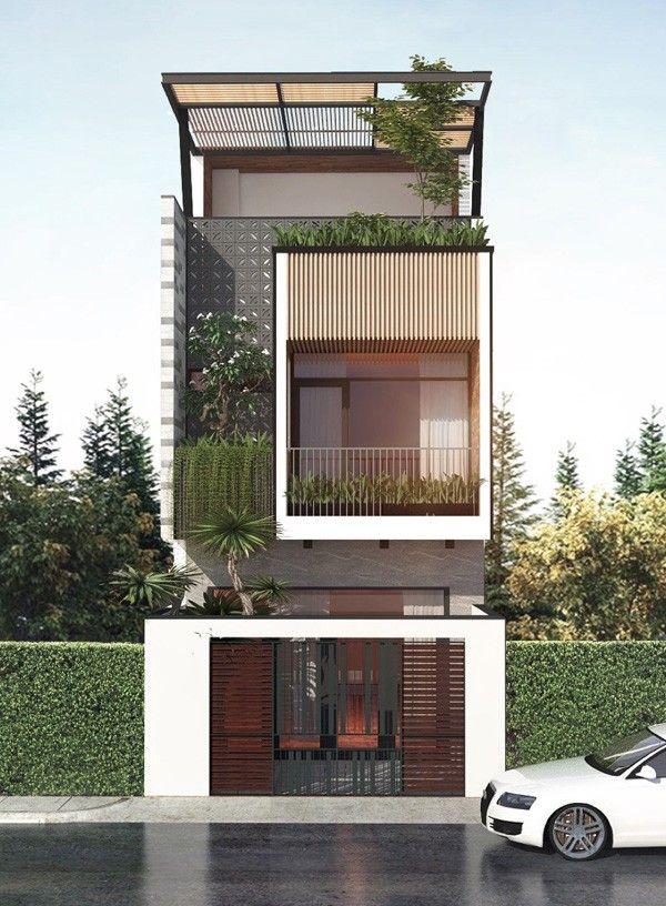 10 mẫu nhà 3 tầng đẹp nhất 2020