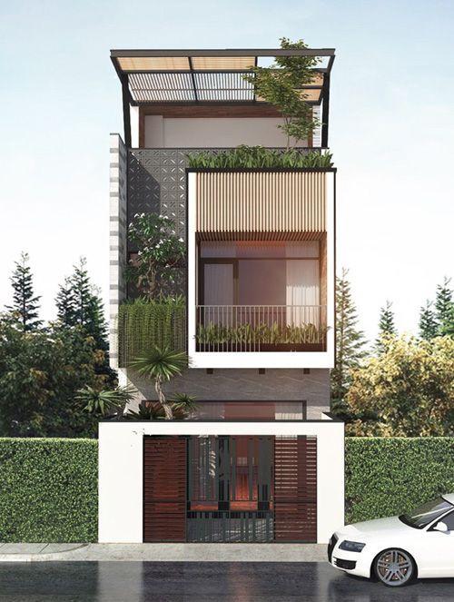 10 mẫu nhà 3 tầng đẹp nhất 2019