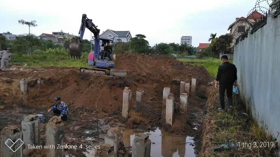 Thi công xây dựng biệt thự tân cổ điển Hải Phòng