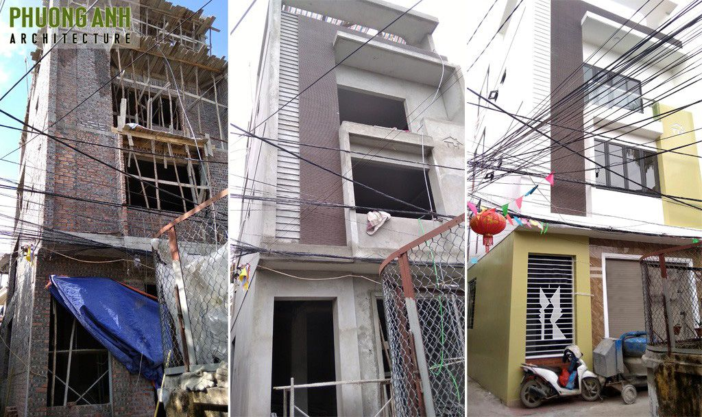 Xây nhà trọn gói 4 tầng tại Văn Cao - Hải Phòng