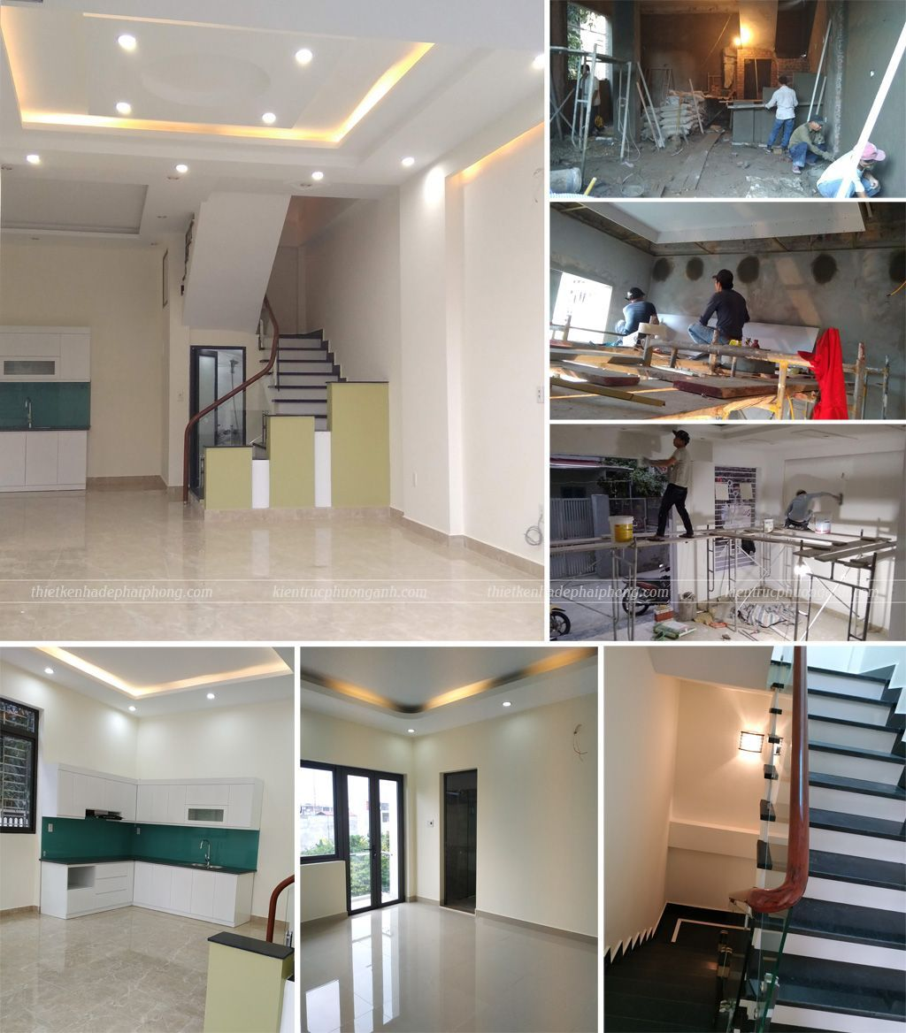 Hoàn thiện nội thất nhà xây trọn gói tại Hải Phòng