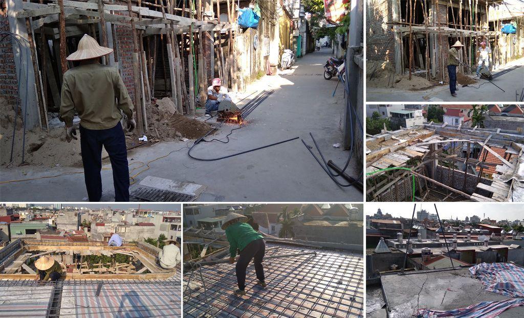 Khẩn trương thi công xây nhà trọn gói 4 tầng | Chất lượng, uy tín, giá tốt nhất