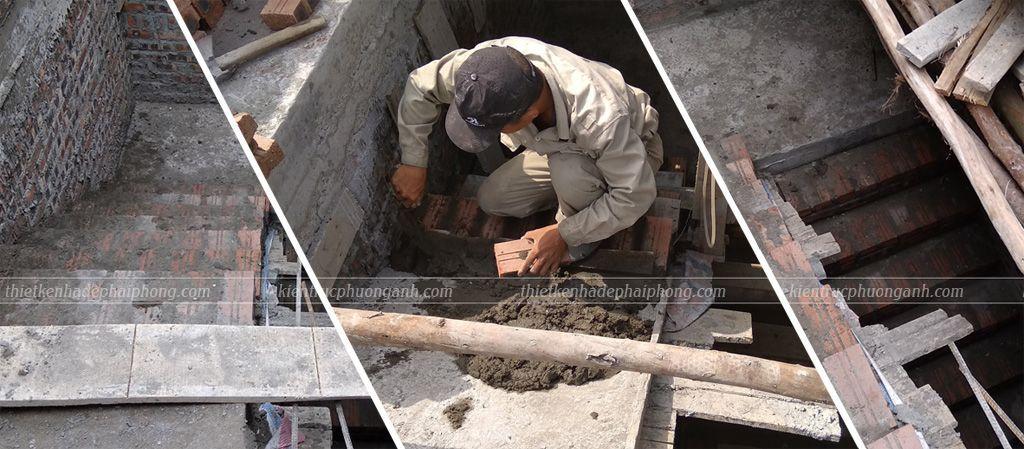 Xây cầu thang | Công ty Xây dựng & Nội thất Phương Vinh