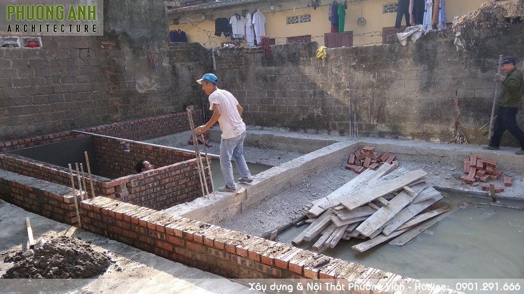 Hoàn thiện xây dựng móng nhà | Kiến trúc Phương Anh