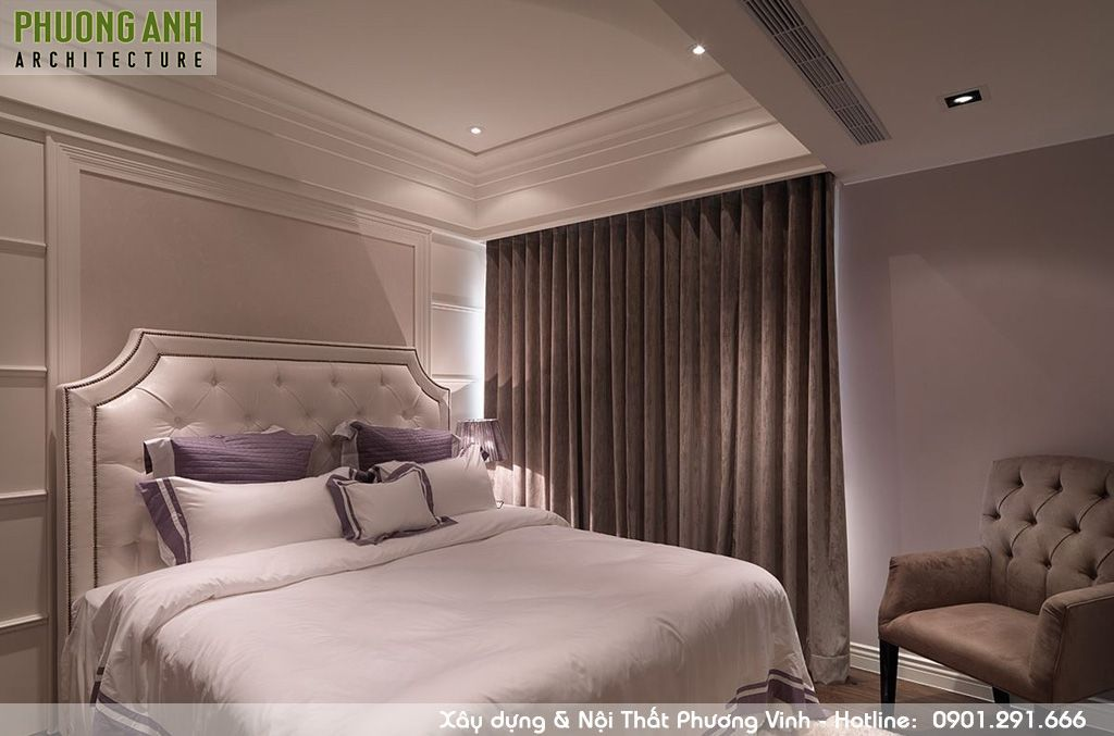 Thi công nội thất trọn gói phòng ngủ đẹp