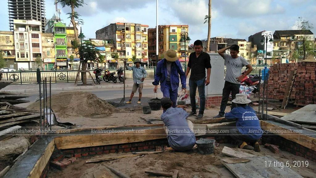 Nhật ký công trình xây nhà trọn gói chất lượng ở Hải Phòng