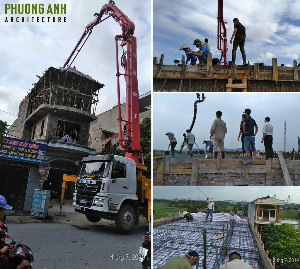 Xây thêm tầng và Sửa nhà trọn gói tại Thủy Nguyên - Hải Phòng