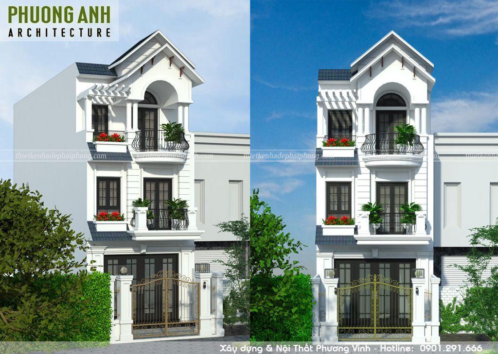 Mẫu thiết kế nhà 3 tầng đẹp khiến bạn không thể rời mắt
