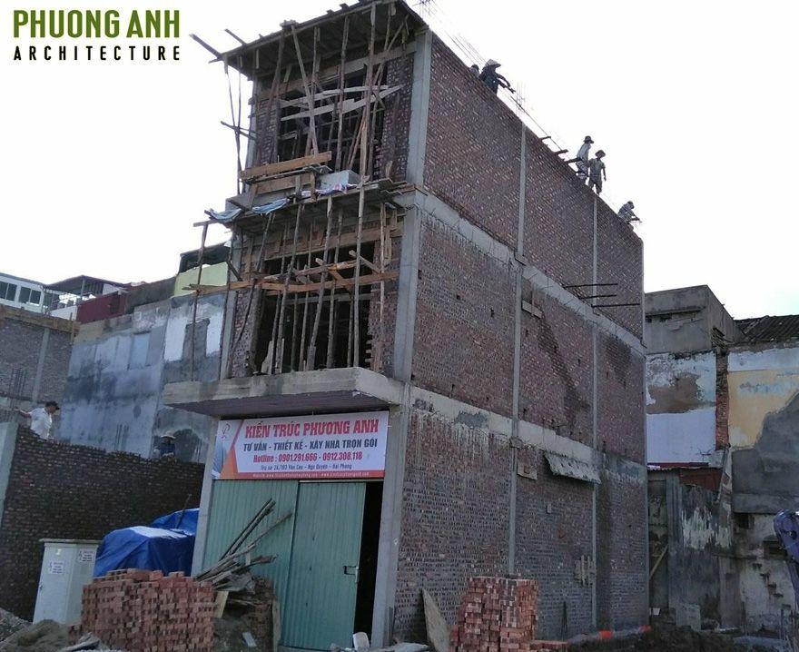 Chuẩn bị đổ mái tầng 3 | Thi công chất lương khẩn trương