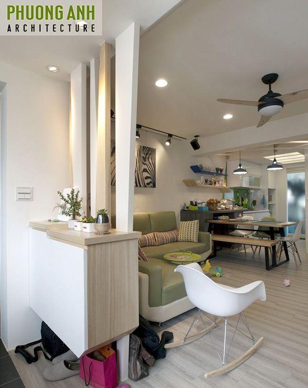 Hướng dẫn bài trí nội thất phòng khách đẹp đơn giản