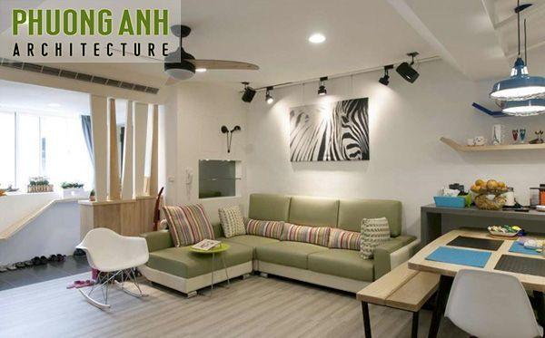 Thiết kế cải tạo nội thất chung cư 70m2 | Thi công nội thất trọn gói giá rẻ