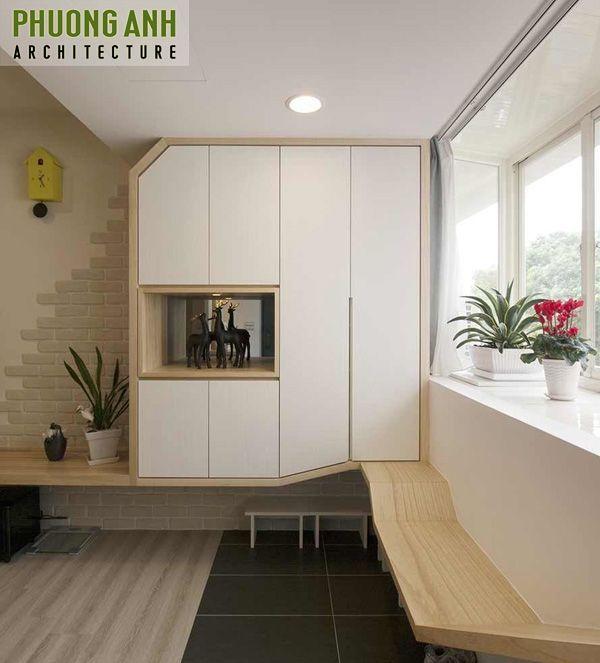 Thiết kế cải tạo phòng khách chung cư