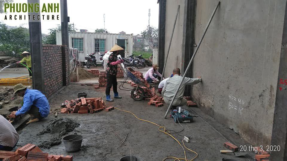 Đội thợ có kinh nghiệm lâu năm thi công xây nhà