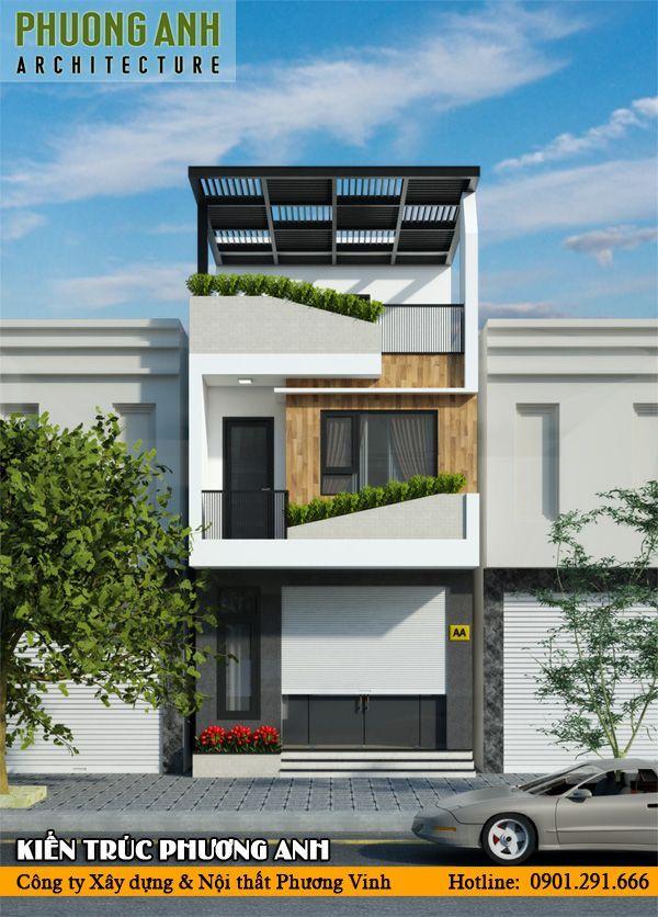 Phương án thiết kế nhà 3 tầng đẹp độc đáo được nhiều gia chủ yêu thích