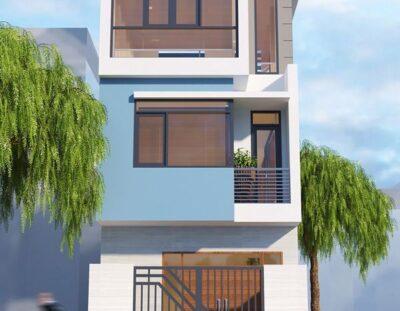 Mẫu nhà 3 tầng đẹp hiện đại
