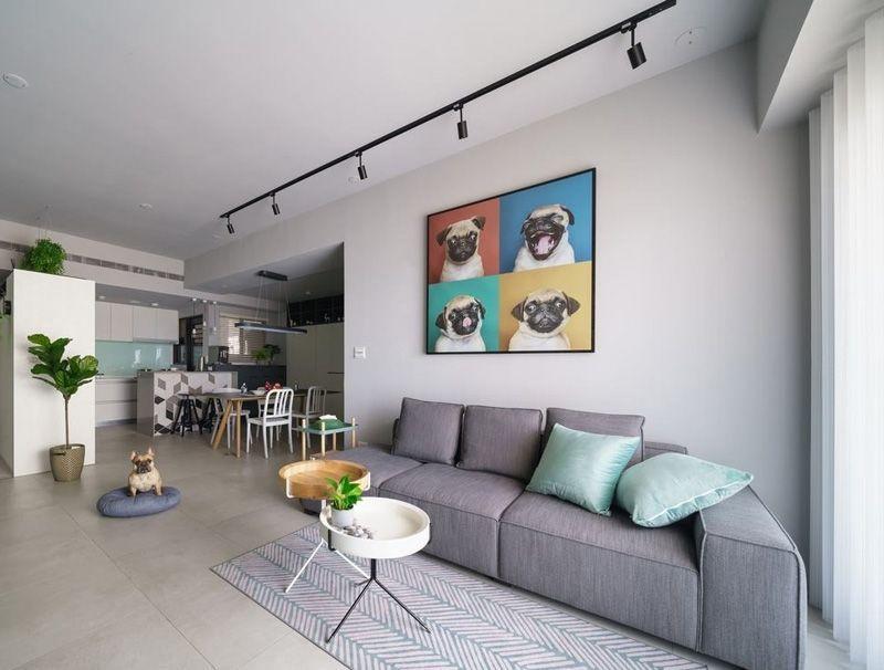 Phòng khách trở nên ấn tượng với bộ sofa êm ái